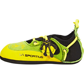 La Sportiva Stickit Kletterschuhe Kinder lime/yellow